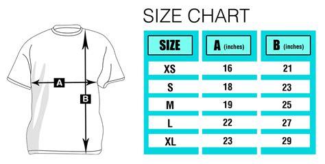 Size T Shirt t shirt size chart t shirt size chart ayucar