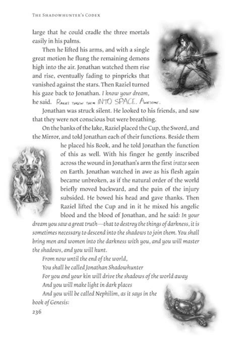 Pdf Shadowhunters Codex Mortal Instruments by The Shadowhunter S Codex Excerpt A History Of The