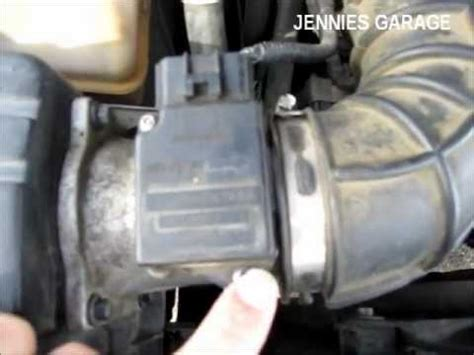 how to clean a ford maf sensor simple effective