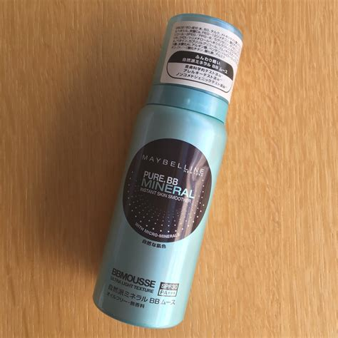 Maybelline Mineral Bb maybelline bb mineral bb mousse bellyrubz