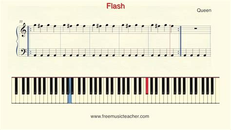 tutorial piano queen how to play piano queen quot flash quot piano tutorial by ramin