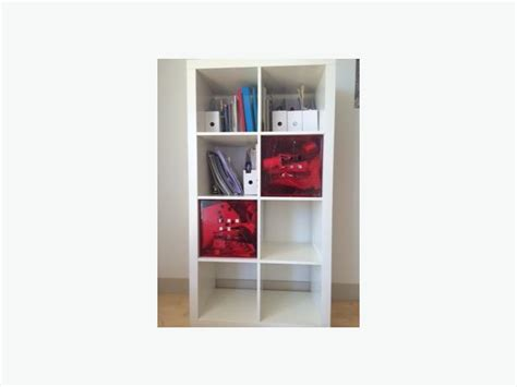 Used Furniture Kitchener Waterloo by White Bookcase Kallax Dr 214 Na Ikea And Cubes Lekman