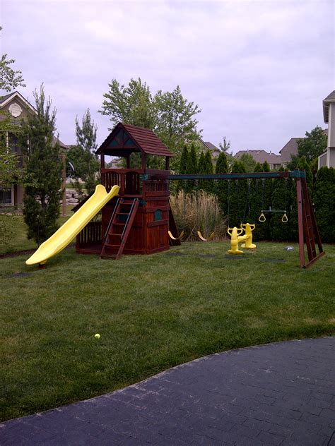 swing sets kansas city power washing and staining services recreation