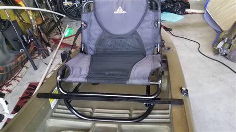 kayak raised seat ascend fs12t diy raised seat