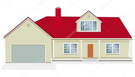 picture of house vector illustration of house stock vector 169 wikki33 2467745