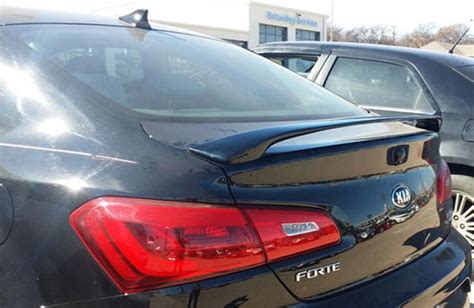 Kia Forte Spoiler Kia Forte Koup 2 Post Painted Rear Spoiler 2014 2015