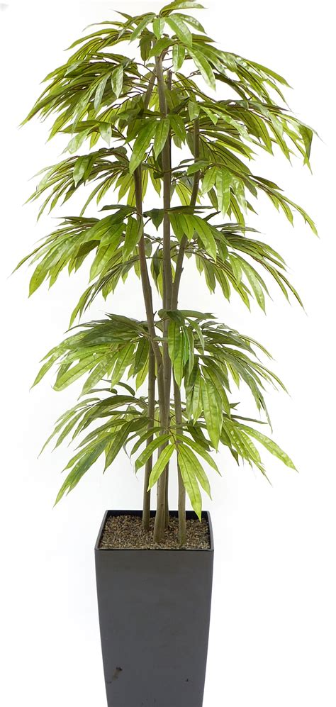 artificial slim mango tree and artificial handbuilt trees