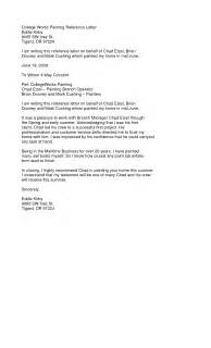 reference letter sle student college cover letter
