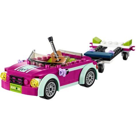 lego speed boat sets lego 41316 andrea s speed boat transporter lego 174 sets