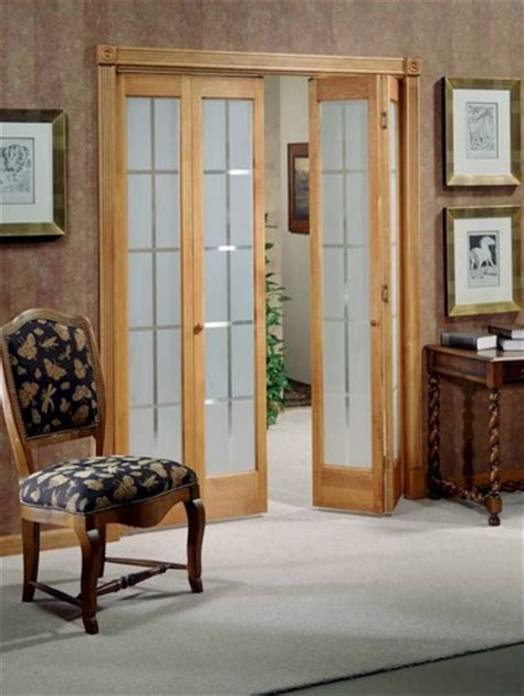 interior glass folding doors frosted glass panel interior folding doors home