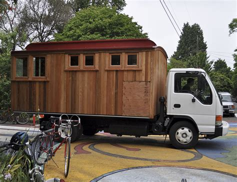17 best images about rv wagon tiny home floor plans on pinterest cers wheels for sale pedalpalooza tour of southeast portland tiny homes