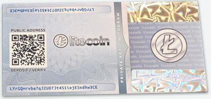 litecoin paper wallet generator offline  bip  tamper evident hologram stickers