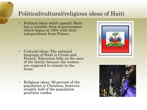 5 themes of geography haiti ppt the five themes of geography within haiti powerpoint