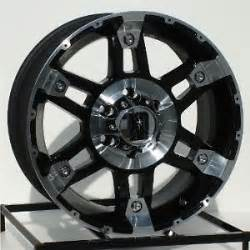 6 Lug Truck Wheels 17 Inch Black Wheels Rims Chevy Gmc 6 Lug 1500