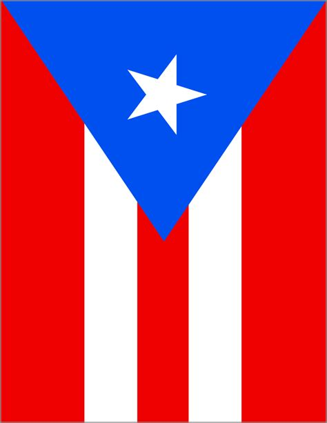 Availible by Puerto Rico Flag Full Page Flags Countries P Puerto
