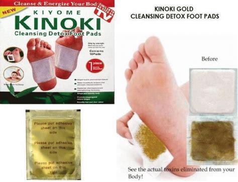 Kenrico Gold Detox Foot Pads by Kinoki Detox Gold Penyerap Racun Asli Murah
