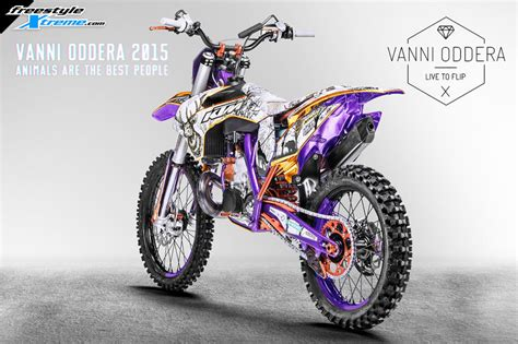 freestyle motocross bikes for sale gallery bike envy vanni oddera 2015 fmx bike