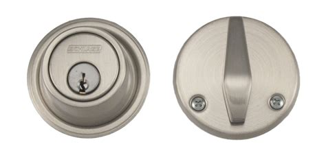 iron door schlage lock schlage b560 satin nickel single cylinder deadbolt b560 619