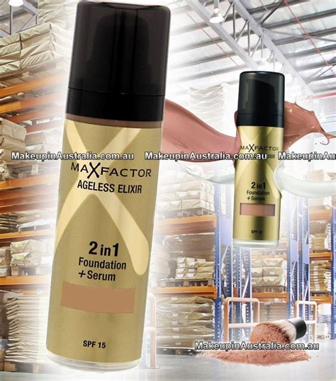 Foundation Max Factor 2 In 1 max factor ageless elixir 2 in 1 foundation serum makeup