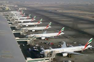 International Airport Dubai International Airport Is A Major Aviation Hub In The