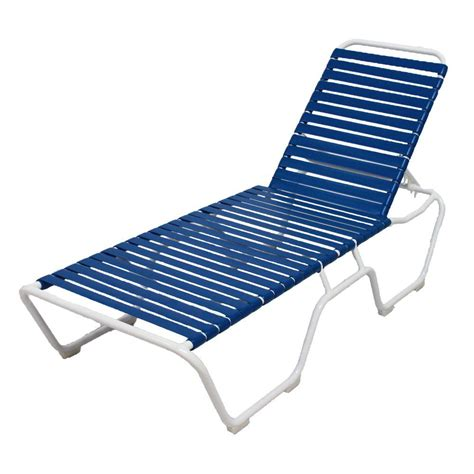 white chaise lounge outdoor marco island white commercial grade aluminum vinyl strap