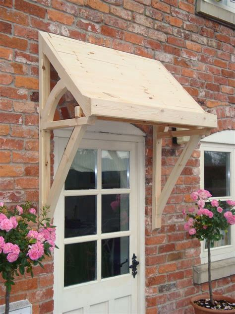 entry door awning timber front door canopy lean to mono pitch ellesmere