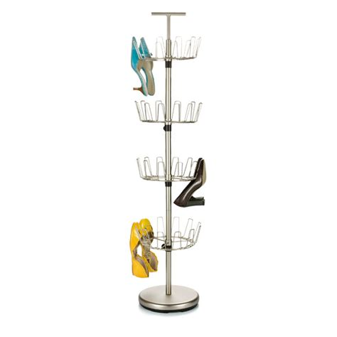 shoe tree storage shoe tree nickel 4 tier shoe tree the container store