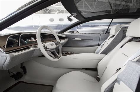 Nicest Interior Car by Cadillac Escala Scales Up Luxury Car Interiors