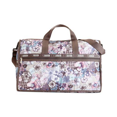 Lesportsac Large Weekender Bag lesportsac large weekender bag in purple amelia pastel