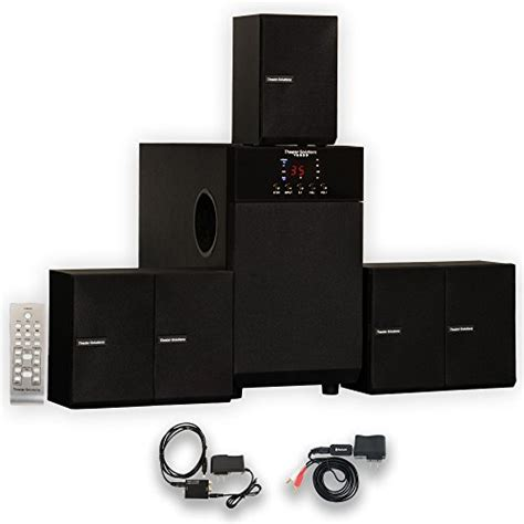review theater solutions ts509 home theater 5 1