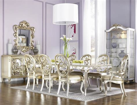 mirrored dining table for sale silver buffets and cabinets for your luxury dining room