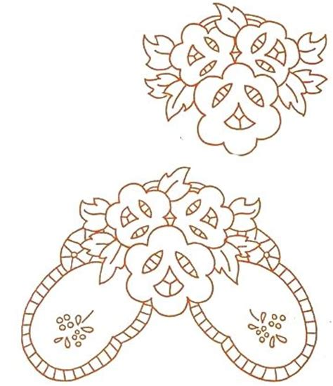 schemi ricamo fiori schemi per ricamo intaglio punti e spunti