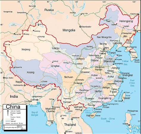 map of maps of china