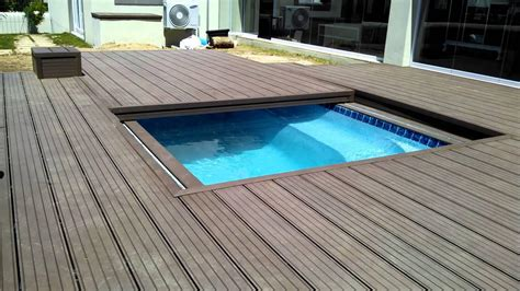 wood pool deck inground pool deck which to choose backyard design ideas