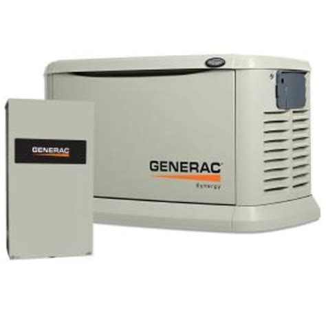 generac 20 000 watt variable speed air cooled standby