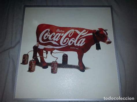 cuadro coca cola cuadro vaca coca cola 1995 antonio de felipe comprar