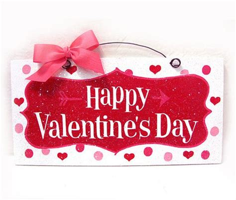 happy valentines day ideas happy s day sign hearts and arrow with glitter