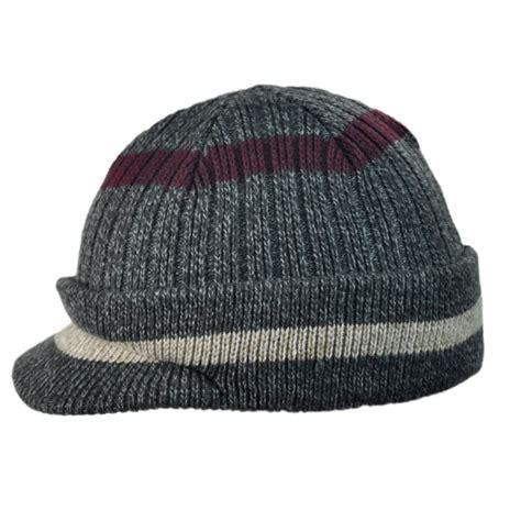 beanie hat knit woolrich radar knit visor beanie hat beanies