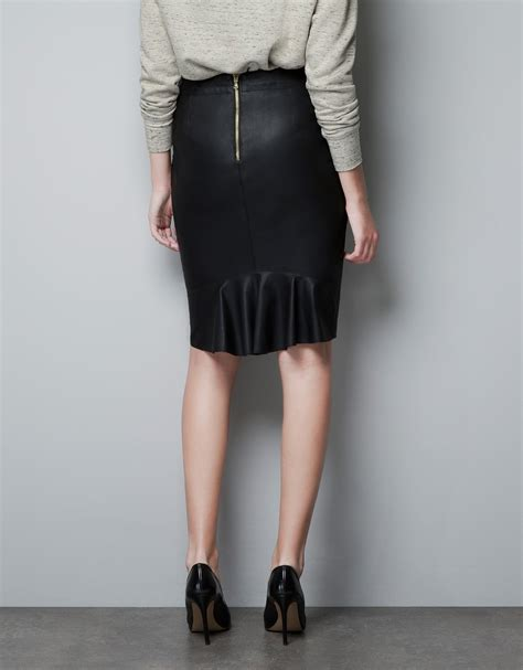 zoe leather skirt strictly it takes two spotted tv