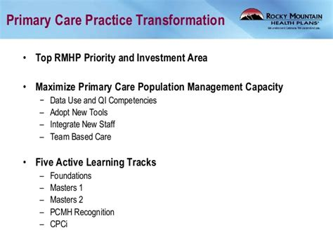 pattern recognition in primary care health it summit denver 2014 quot anatomy of a health system quot