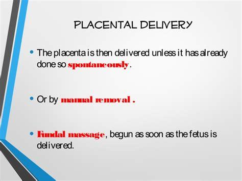 massaging uterus after c section cesarean section cs