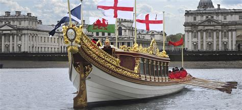 the queen s boat royal barge gloriana hare humphreys