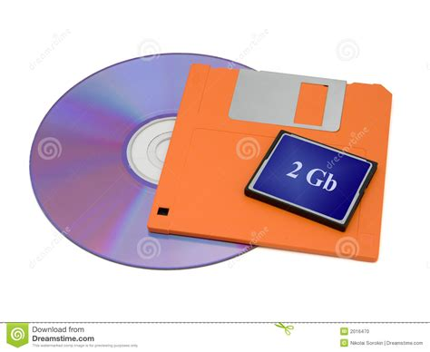 card cds cd floppy disk and flash card stock photo image 2016470