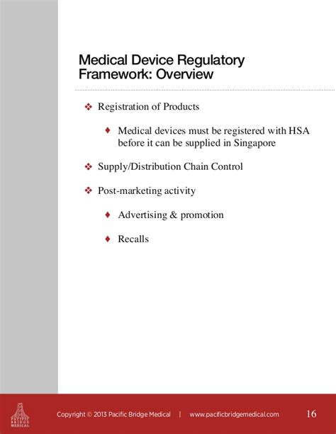 Regulatory Strategies For Medical Device Companies To Succeed In Asia Device Regulatory Strategy Template