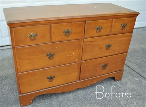 How To Paint A Wood Dresser by Two Tone Treasure How To Paint Furniture Centsational