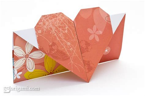 Origami Cards To Make - picture of diy origami card