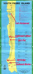 map of south padre island south padre island area maps