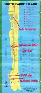 south padre island area maps