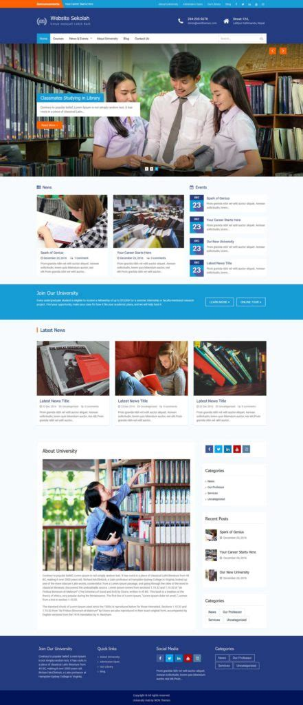 website sekolah sketsawebcom