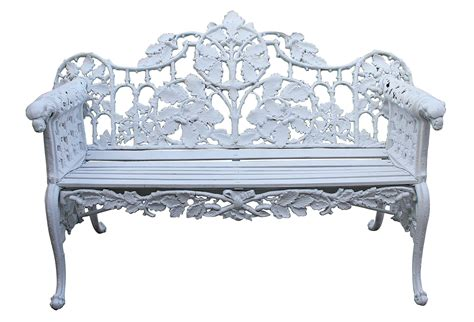 garden bench cast iron antique cast iron garden bench omero home
